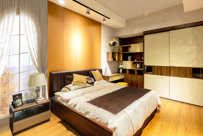 美式咖啡系列_卧室