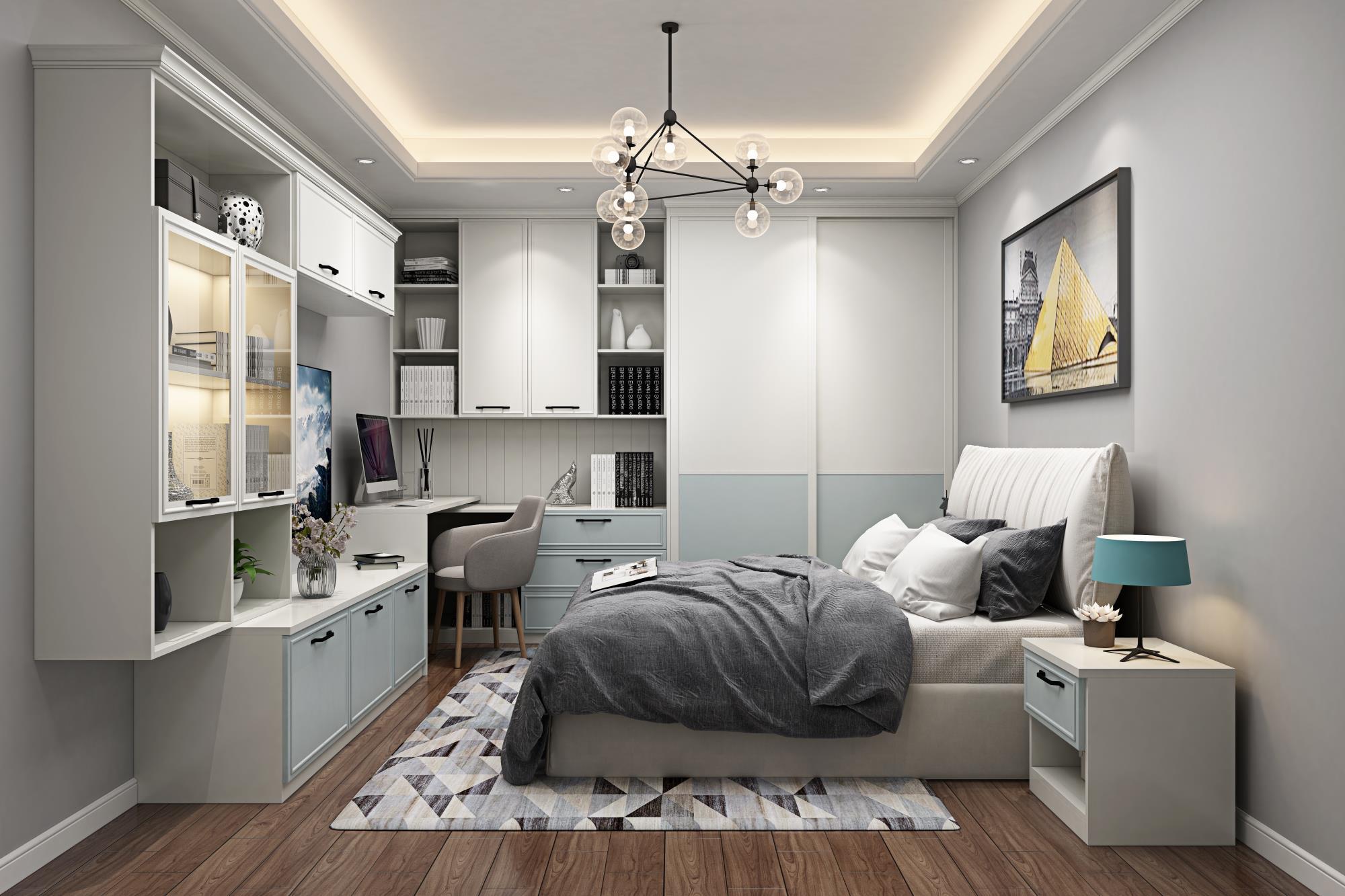 加勒比海_卧室家具