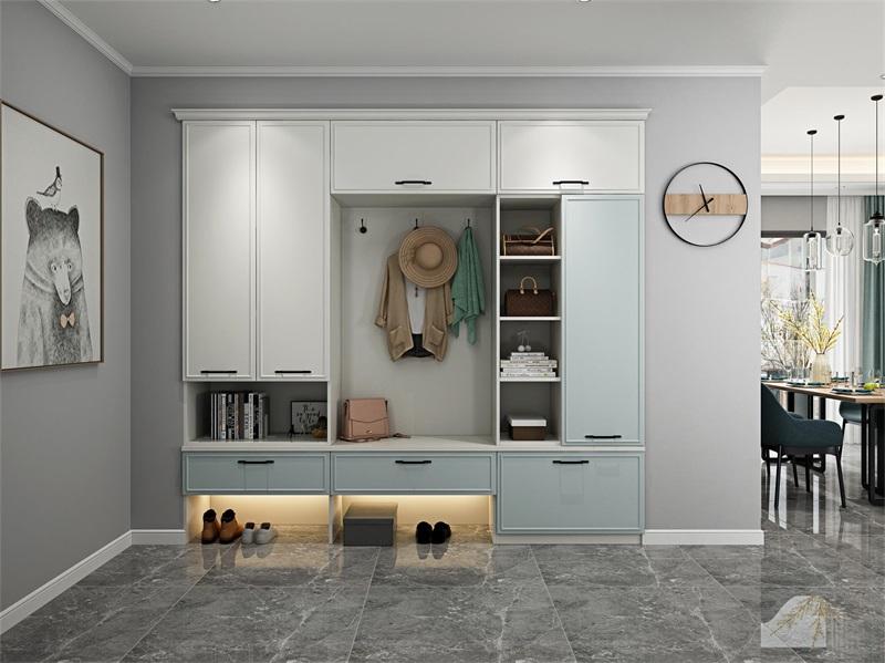 玄关设计多少尺寸合适,我们如何选着玄关柜?