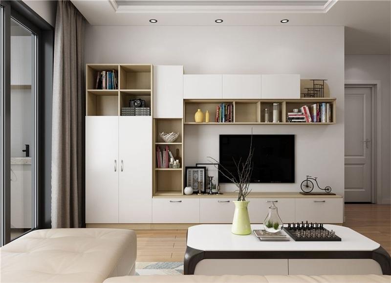 如何定制电视柜和电视墙?实用端庄两不误