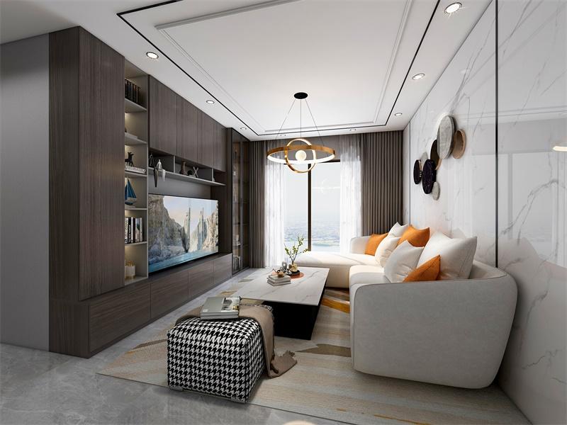 【石墨雅调】65m²两房一厅这样装,也能妥妥住出高级感