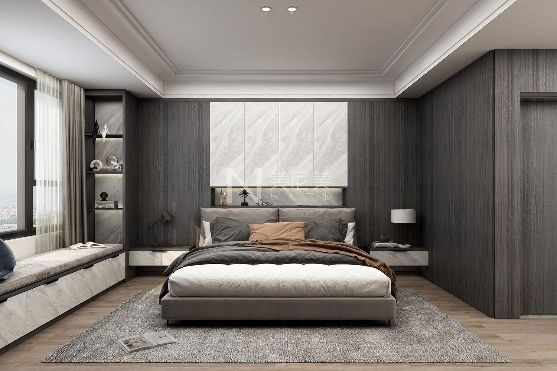 《美板石纹-美境风岩-卧室》