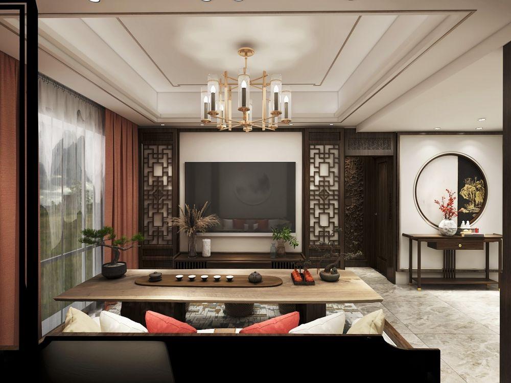 新中式装修不难,只要家具选对!